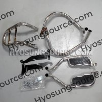 Aftermarket Engine Guard with Luggage Frame Daelim VL125