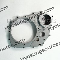 Genuine Engine Clutch Cover Silver Hyosung GT650 GT650R GT650S