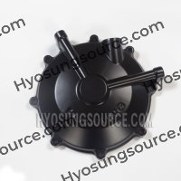 Genuine Outer Clutch Cover Black Hyosung GT650 GT650R