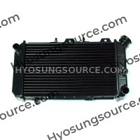 Genuine Radiator Cooler Black Hyosung GT650 GT650R GT650