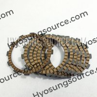 7pcs Genuine Clutch Drive Plate Kit Hyosung GT650 GT650R GV650