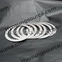 6pcs Clutch Driven Steel Plate Kit Hyosung GT650 GT650R GV650
