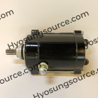 Aftermarket Engine Starter Motor Black Daelim VJF125 Roadwin