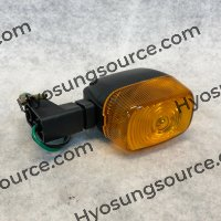 Aftermarket Rear Turn Signal Amber Lens EZ100 Super Cap 50