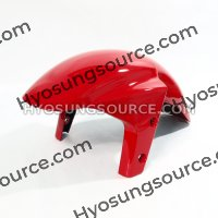 Genuine Front Fender Red Hyosung GT250R GT650R