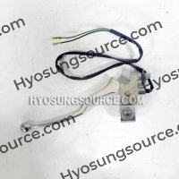"7/8"" 22mm Clutch Lever & Perch Assy Hyosung GV125 GV250"