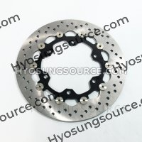 Genuine Front Left Brake Disc Disk Rotor Hyosung GV650