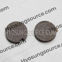 Genuine Front Brake Pads Hyosung GD125 GA125 (OLD STORE STOCK)