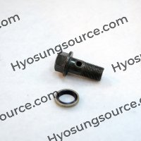 Brake Oil Hose Bolt & Washer 10x22 Daelim SJ50 SH100 SN125 VL125