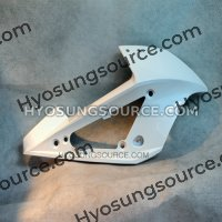White Right Upper Cowling Fairing Hyosung GT250RC GT650RC 2013
