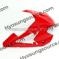 Red Right Upper Cowling Fairing Hyosung GT250R GT650R