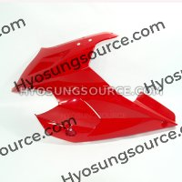 Red Left Upper Cowling Fairing Hyosung GT125R GT250R GT650R