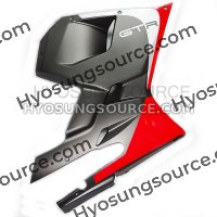 Lower Right Fairing (2013) GT250RC GT650RC (Matt Black / Red)