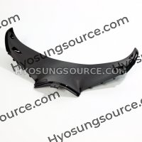 Lower Front Upper Inner Headlight Fairing Black GT250R GT650R
