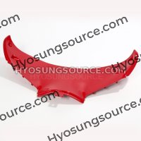 Lower Front Upper Inner Headlight Fairing Red GT250R GT650R