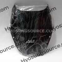 Genuine Dark Smoke Windscreen Hyosung GT125R GT250R GT650R