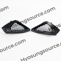Genuine Pair Air Duct Covers Cowl Hyosung GT125R GT250R GT650R