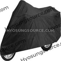 Motorcycle Waterproof Dust Protector Rain Cover Large