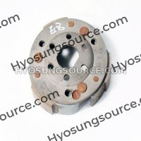 GENUINE REAR DRIVE CLUTCH PLATE ASSY NEW OLD STOCK HYOSUNG EZ100