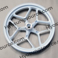 Genuine Front Wheel Rim White (J17x MT3.00) Hyosung GT250N