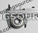 6302 Front Wheel Bearing Hyosung GT125 GT250 GT650 GV250 GV650