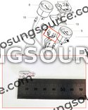 1 Piece BULB (12V 1.7W T6.5) Hyosung Various Models