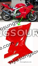 Genuine Lower Right Fairing Cowl (Red) Hyosung GT250R GT650R