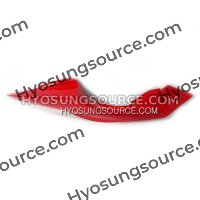 Genuine Rear Right Side Cover Red 2010~ Hyosung GT125R-GT650R
