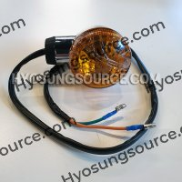 Genuine Front Left Turn Signal Amber Lens Daelim VL 250