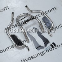 Aftermarket Rear Frame Saddlebag Guard Crash Bars Hyosung GV250
