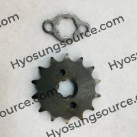 Genuine Front Sprocket & Washer Daelim Citi Ace 110 CA110