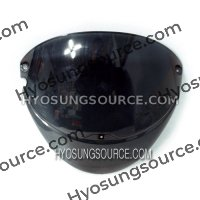 Aftermarket Dark Smoke WindScreen Daelim SH100