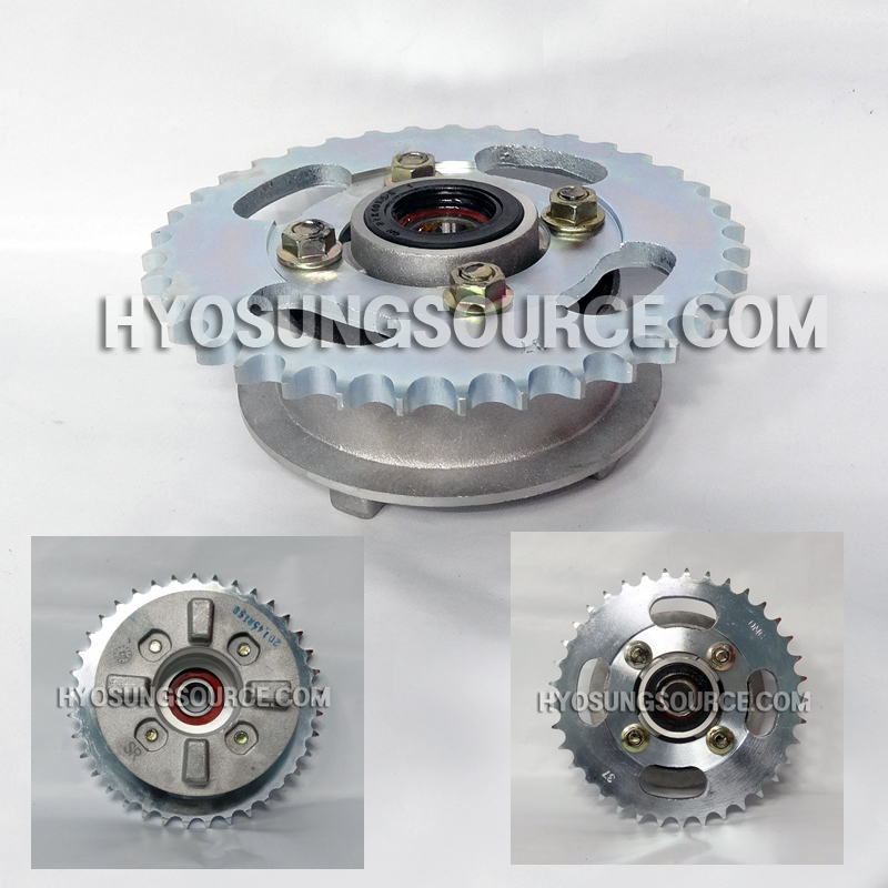 Genuine Rear Wheel Hub With Sprocket Daelim CA110