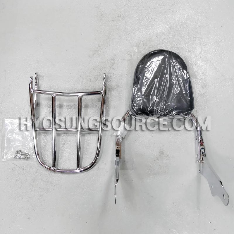 Genuine Backrest & Luggage Carrier Rack Hyosung GV650