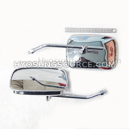 10MM Large View Side Rearview Mirrors Universal Motorbikes