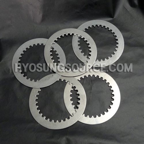 5pcs Clutch Driven Steel Plate Kit Hyosung GT250R GT250 GV250