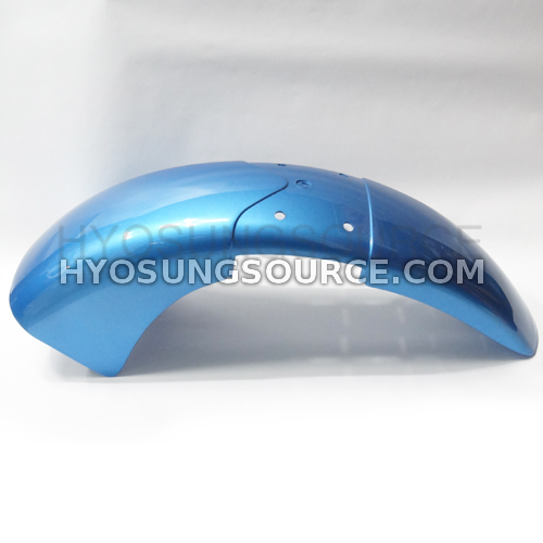 Genuine Front Fender Blue Hyosung GV650