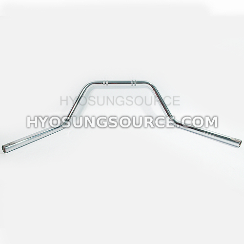 "1"" 25mm Aftermarket Handlebar Chrome Hyosung GV125 GV250"