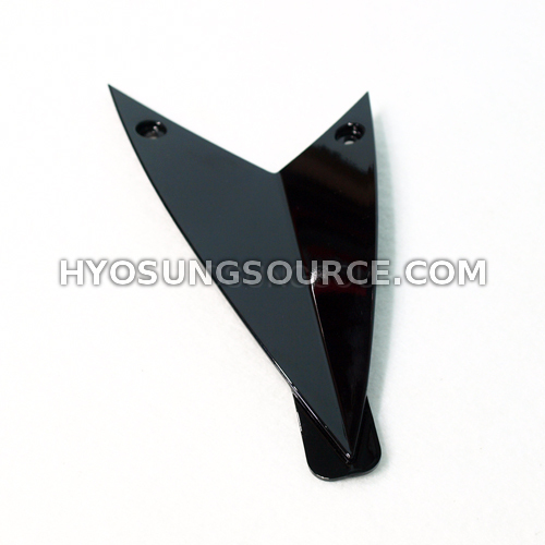 Genuine Upper Fairing Right Infill Black Hyosung GT250R GT650R