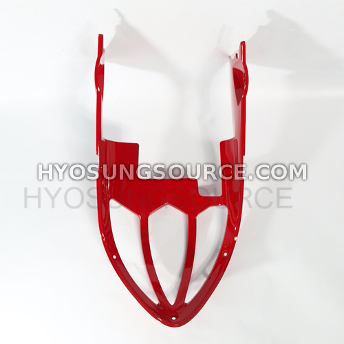 Genuine Under Cowling Center Cowling (Red) Hyosung GT250R GT650R