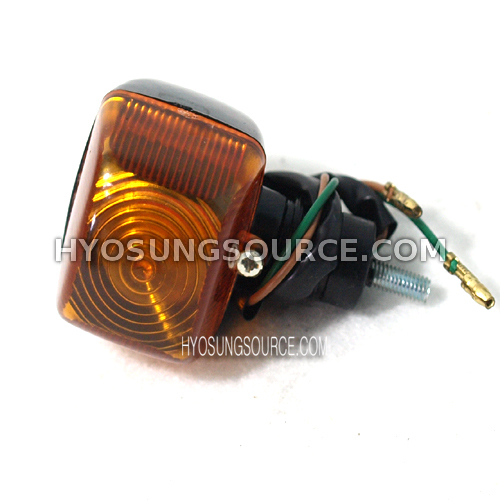 Aftermarket Rear Turn Signal Amber Lens Hyosung SF50