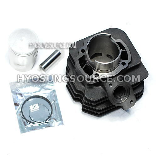 Aftermarket Engine Cylinder & Piston Set Daelim SH100