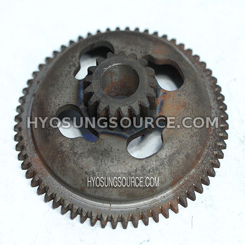 Genuine Engine Starter Clutch Gear Daelim SH100 (Old Type)