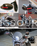 Black Motorcycle Universal Hand Guards Cold Wind Protector