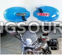 Blue Motorcycle Universal Hand Guards Cold Wind Protector