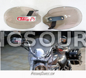 Smoke Motorcycle Universal Hand Guards Cold Wind Protector